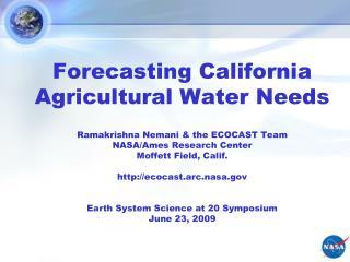 Water in California