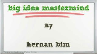 ppt 36764 big idea mastermind