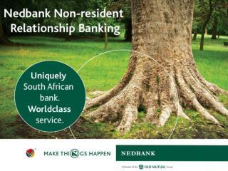 Nedbank Non-resident Relationship Banking