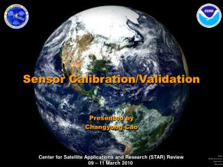 Sensor Calibration/Validation