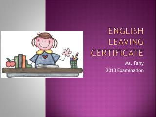 English Leaving Certificate