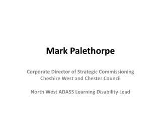 Mark  Palethorpe