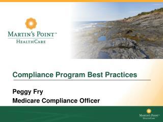 Compliance Program Best Practices