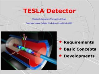 TESLA Detector