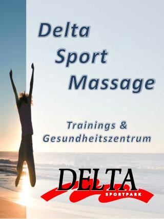 Delta     Sport  Massage Trainings & Gesundheitszentrum
