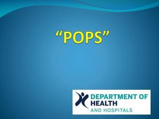 """""""POPS"""""""