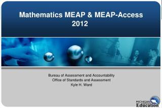 Mathematics MEAP & MEAP-Access 2012