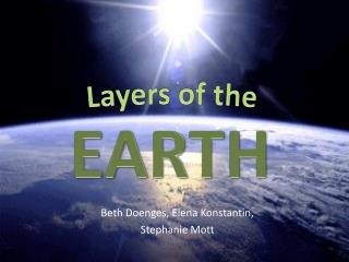 Beth  Doenges , Elena Konstantin,  Stephanie Mott
