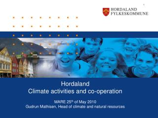 Hordaland Climate activities and co-operation MARE 25 th  of May 2010