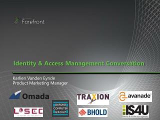 Identity & Access Management Conversation