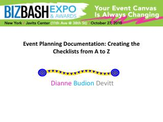 Event Planning Documentation: Creating the Checklists from A to Z