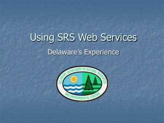 Using SRS Web Services