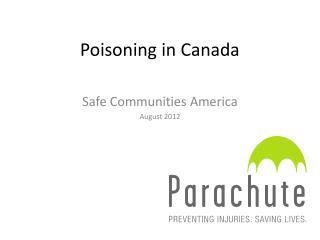 Poisoning in Canada