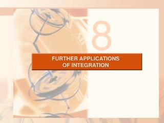 FURTHER APPLICATIONS  OF INTEGRATION