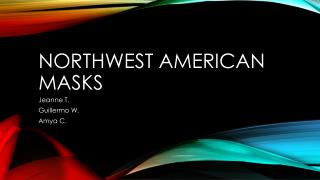 Northwest American Masks
