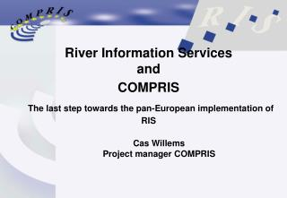Cas Willems Project manager COMPRIS