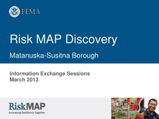 Risk MAP Discovery Matanuska-Susitna Borough