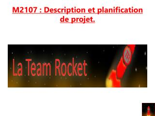 M2107 : Description et planification de projet.