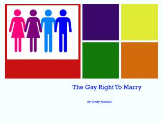 The Gay Right To Marry