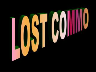 LOST COMMO