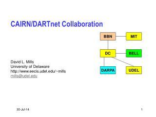 CAIRN/DARTnet Collaboration