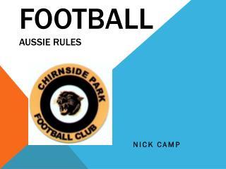 Football Aussie rules