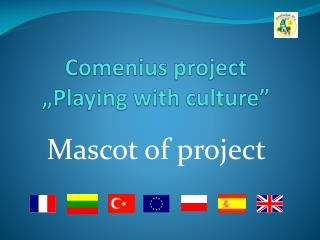 """Comenius  project """" Playing with culture """""""