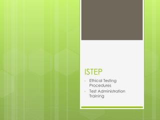 ISTEP