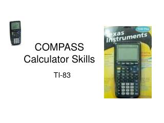 COMPASS Calculator Skills