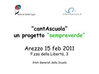 """""""Sesto in Canto"""" a.p.s."""