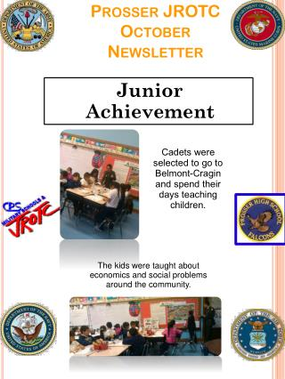 Prosser JROTC October Newsletter