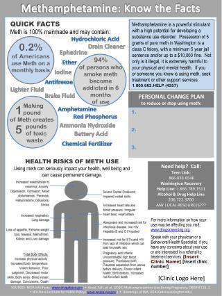 Methamphetamine: Know the Facts