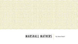 MarshaLl Mathers