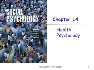 Chapter 14: Psychology in Our Social Lives