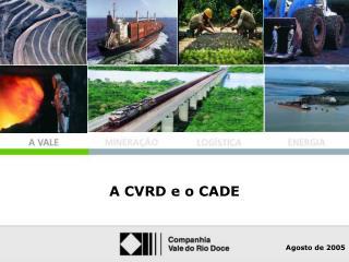O Grupo CVRD no Mundo
