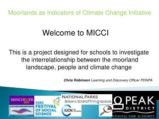 Moorlands as Indicators of Climate Change Initiative