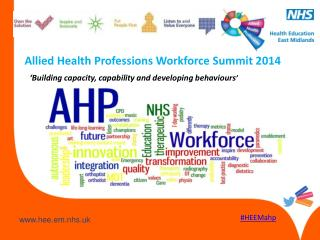 Allied Health Professions Workforce Summit 2014