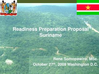 Readiness Preparation Proposal Suriname