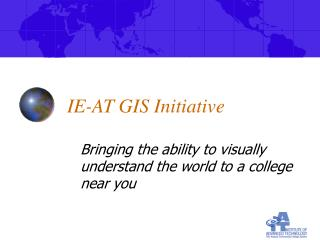 IE-AT GIS Initiative
