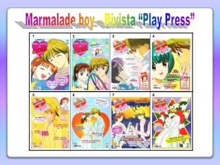"Marmalade  boy – Rivista ""Play Press"""