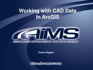 Working with CAD Data In ArcGIS