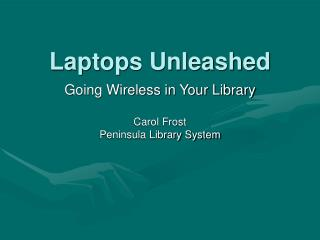 Laptops Unleashed