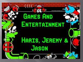 Jason Jeremy  Haris