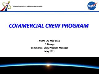 COMMERCIAL CREW PROGRAM