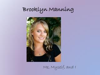 Brooklyn Manning