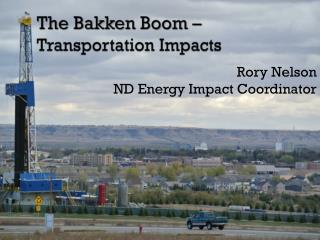 The Bakken Boom – Transportation Impacts