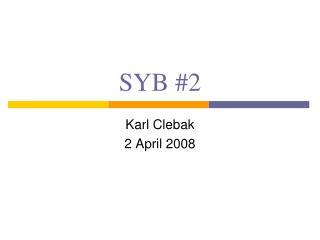 SYB #2