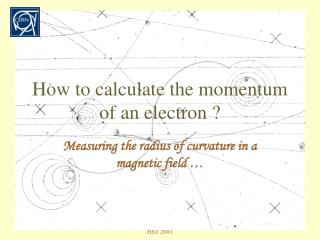 How to calculate the momentum of an electron ?