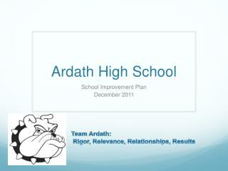Ardath  High School