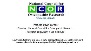 Low Back Pain:  Current Evidence Update